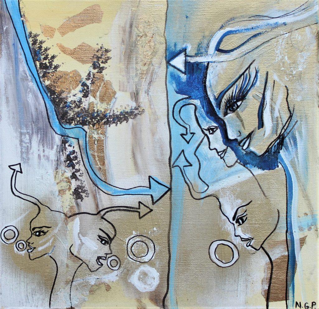 Blue  Art Væsner